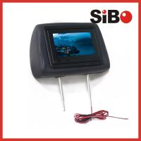 Buy cheap Taxi Back Seat Advertising Headrest Monitor with 3G / WIFI / Body Sensor from wholesalers