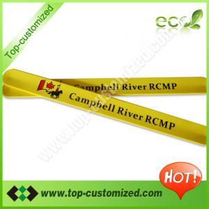 China Custom silicone slap wrap bracelet for gift on sale