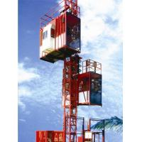 Buy cheap Customized Color Construction Material Hoists , Construction Elevator With 36m / Min To 96m / Min Speed product
