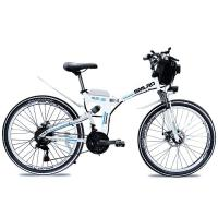 Buy cheap 350W 48V Portable Electric Bike Aluminum Alloy Rim LCD Control Instrument from wholesalers