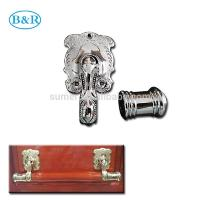 Buy cheap H057 Australia Style Metal Coffin Handles Zamak Fix bar handles product