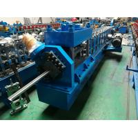 Buy cheap 2 Inch / 3 Inch Garage Door Guide Rail Roll Forming Machine from wholesalers