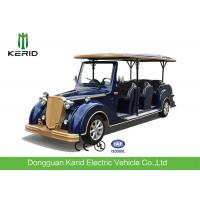 Buy cheap 8-11 Seats Electric Vintage Cars With 8V 4KW DC System Maintenance Free from wholesalers