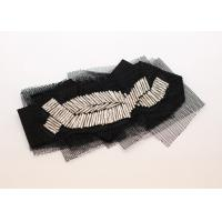 Buy cheap Blouse Bag Shoe Black Chiffon Fabric Flower Brooches and Corsage Pins from wholesalers