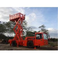 Buy cheap Two Stage Combustion Underground Utility Equipment 1 Ton Scissors Lift Truck from wholesalers