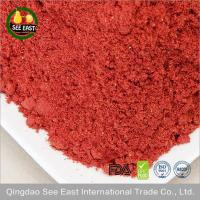 Buy cheap Wholesale healthy drink ingredient Chinese food freeze dried crushed strawberry powder from wholesalers