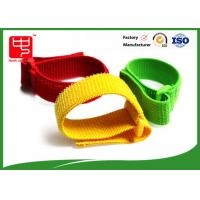 Buy cheap Reuseable Elastic hook and loop Straps with buckle , adjustable nylon straps  cable tidy from wholesalers