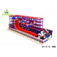 Buy cheap Indoor Ball Pool Playground Kids Toys With Slide Trampoline / Obstacle Course from wholesalers