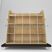 Buy cheap Movable Wooden T - Shirt / Jeans Display Racks For Apparel Retail Store Promotion from wholesalers