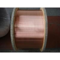 Buy cheap High Strength 30% CCS CATV Inner Conductor , Copper Clad Steel Wire For Electronic Products product