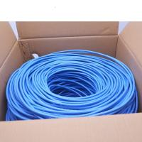 Buy cheap 23AWG Cat6 UTP Network Cable 4 pairs Copper 1000ft Per Roll 0.58mm Conductor from wholesalers