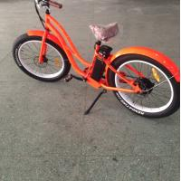 Buy cheap 500W brushless motor powered bicycle , womens full suspension mountain bike from wholesalers