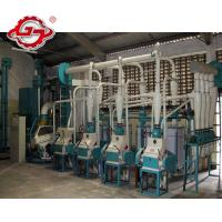 Buy cheap Maize Flour Mill Machinery,30t Maize Milling Equipment from wholesalers