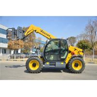 Buy cheap Yellow Small Telescopic Forklift Versatile Lifting Handling Equipment High Efficiency from wholesalers