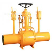 Buy cheap One Piece Fully Welded Ball Valve / Full Bore Ball Valve Abrasion Resistance product