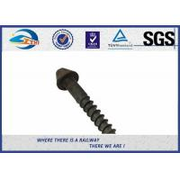 Buy cheap Post Anchor Screw Anchor Fence Spike Track Spike Railway Fasteners SGS / ISO9001 from wholesalers