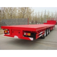 Buy cheap 3 Axle Low Bed 11.00r20 Heavy Duty Semi Trailers from wholesalers