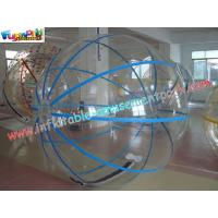 Buy cheap 1.5M, 2M Diameter Inflatable Zorb Ball for Kids or Adults Playing on Swimming Pool from wholesalers