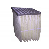 Buy cheap Non Woven Fabric F6 Pocket Filter Bag Air Filter For Clean Air Conditioning Unit product