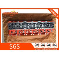 Buy cheap Mitsubishi Forklift Engine Parts Cylinder Head For S6S 32B01-01011 32B0101011 product