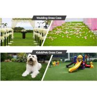 Buy cheap High density good  qualityEnvironmental friendly Anti-UV Pile Height 30mm denstiy 16000 green color pets Synthetic Grass from wholesalers