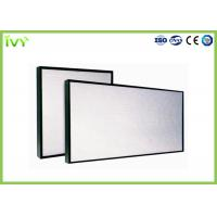 Buy cheap Fume Hood Mini Pleat Hepa Filter , Hepa Media Filter Alluminum Alloy Frame from wholesalers