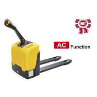 Buy cheap AC Function Walkie Electric Pallet Jack , Narrow Space Motorized Pallet Jack from wholesalers