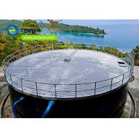 Buy cheap Corrosion Resistance Stainless Steel Bolted Tanks / Wastewater Storage Tanks from wholesalers
