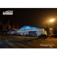 Buy cheap Hot - DIP Galvanized Clear Span Liri Outdoor Exhibition Tents For Festival / Fair / Tradeshow from wholesalers