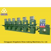 Buy cheap Hydraulic Compression Moulding Rubber Sole Making Machine Static Type Save energy from wholesalers