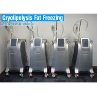 Buy cheap CoolSculpting Cryolipolysis Body Slimming Machine / Fat Reduction Equipment Painless from wholesalers