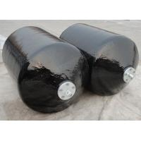 Buy cheap Heavy Duty Black Foam Filled Boat Fenders Outer Rubber + Nylon Cord Fabrics from wholesalers