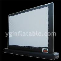 Black Inflatable Screen