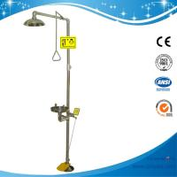 Buy cheap SH712BSF-SUS304 stainless steel Pedaled emergency shower & eyewash station combination foot operated eye wash from wholesalers