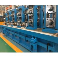 Buy cheap Rectangle Ss Steel Pipe Manufacturing Machine / MS Tube Mill Machine Line from wholesalers