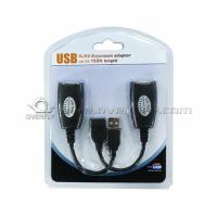 China IC Cable USB RJ45 extension adapter 50m extension with popular packing on sale