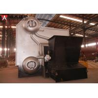 Buy cheap Industrial Water Tube Wood Fired Boiler Corrugated 14 Bar Capacity 4 Tons from wholesalers
