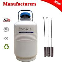 Buy cheap China Cryogenic Tank 10L Storage Liquid Nitrogen Gas Cylinder TIANCHI Manufacturer from wholesalers