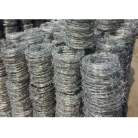 Buy cheap Low Carbon Steel 1.0mm BWG11 Razor Blade Fencing Wire from wholesalers