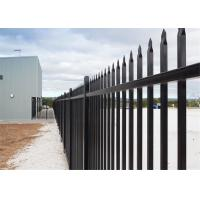 Buy cheap 1800mm*2350mm Aluminum Wrought Iron Metal Steel Fence Decorative Backyard Garden Fence from wholesalers