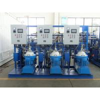 Buy cheap 3000 - 9000 L/H PLC Centrifugal Lubricating Oil Purifier Separator Variable Discharging Type from wholesalers