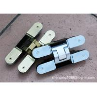 Buy cheap Silent 3d German Hinges ,  Open / Close Concealed Door Hinge Thickness 40mm from wholesalers
