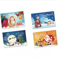 Buy cheap 3D lenticular card/pp/pet/pvc kids promotional gifts cards/playing card-3D Lenticular Plastic Printing moving cards from wholesalers