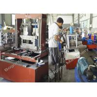 Buy cheap Solar Panel / Cable Tray Roll Forming Machine , Steel Frame Roll Forming Machine from wholesalers