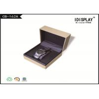 Buy cheap Rectangle Cardboard Luxury Watch Gift Box  Packaging With Custom Logo from wholesalers