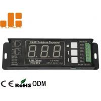 Buy cheap Single Channel DMX Signal Splitter With Digital Display Address Mode DC12V - 24V from wholesalers