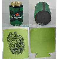 Neoprene can collapse collapsible stubby can bottle cooler holder