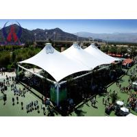 Environmental Sail Tensile Fabric Structures For Outdoor Sport Facility Anti - Hurricane