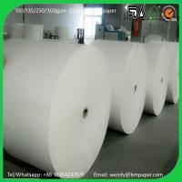 Buy cheap High Quality C2S Glossy Coated Art Paper / Couche Paper in roll or in sheets / in ream product