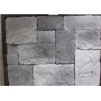 Buy cheap Durable Faux Stone Wall Tiles , Faux Stone Veneer Exterior / Interior Wall Decoration from Wholesalers